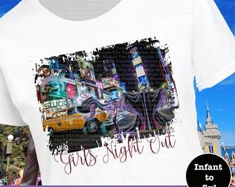 Disney Villain Shirt, Disney Girls Night Out Shirt, Disney In The City Shirt