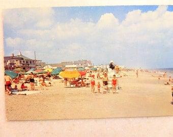 Vintage Postcard Rehoboth Beach, DE Delaware 1960