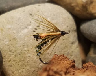 Royal Olive Spider - Fly Fishing - 3 Flies