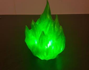 LED Green Fireball
