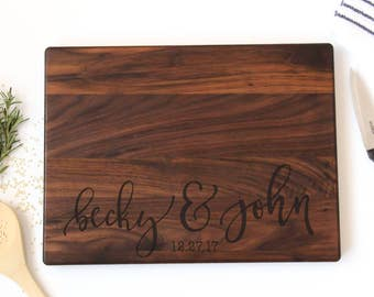 Custom Cutting Board | Engraved Cutting Board | Personalized Cutting Board | Housewarming Gift | Anniversary Gift | Christmas Gift