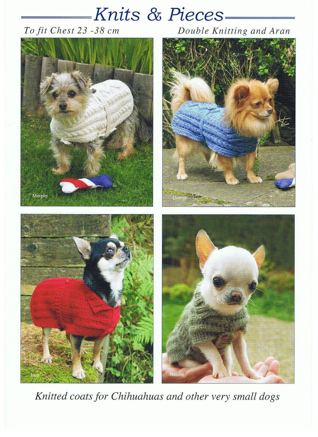Knitting pattern for dog coat dog sweater very small dog coat knitted dog coat pattern kp 06 sold by debsknittingmadness bankloansurffo Gallery