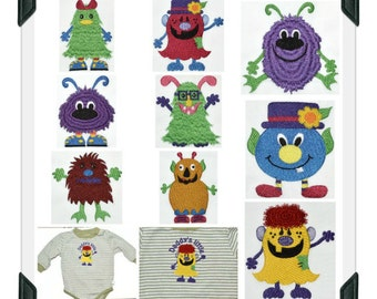 Monster-Mash ( 9 Machine Embroidery Designs from ATW )