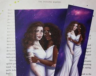 Zodiac Sign Gemini Bookmark&Postcard