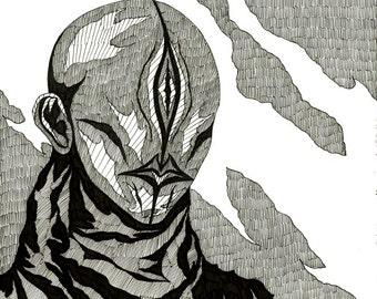 Cyclops - Original Drawing