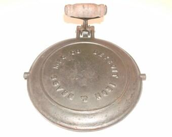 Detroit Iron & Brass waffle iron