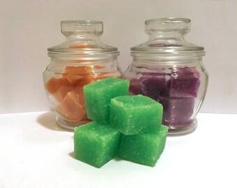 Sugar Scrub Cubes // Gift // Bath