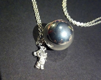 Necklace with bola Bola Mexican or perfect gift for expectant moms