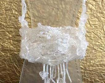 Crystal Mini Purse Necklace