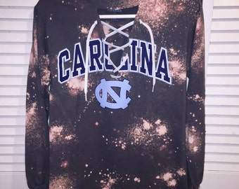 Lace Up College Long Sleeve