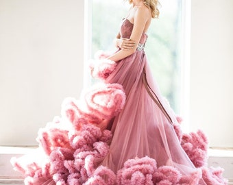 Dress cloud , Wedding dress , Tulle wedding dress , Wedding dress-cloud ,  Photo studio dress