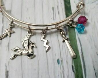 Hercules Inspired Charm Bracelet