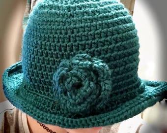1920's Style Cloche Hat