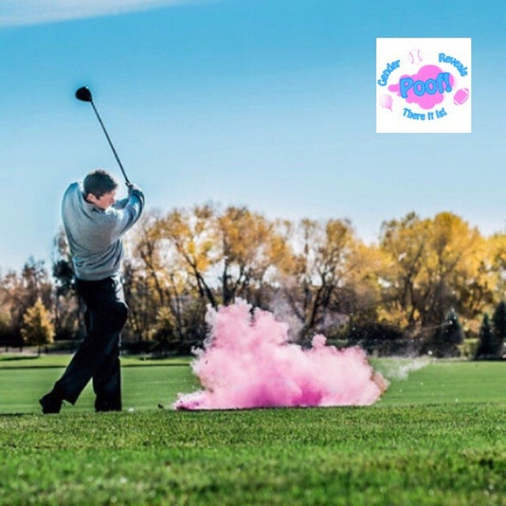 GOLF BALL Gender Reveal: Golf Ball Pack (Custom Color Combinations and Styles) Gender Reveal Golf Ball