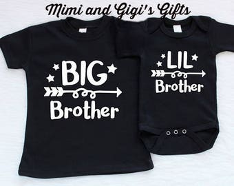 Little Brother Big Brother Matching Shirts