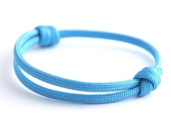 KOMIMAR surfer bracelet baby blue - Friendship Bracelet - birthday - skipper - sail - Beach jewelry - Yachting - bracelet