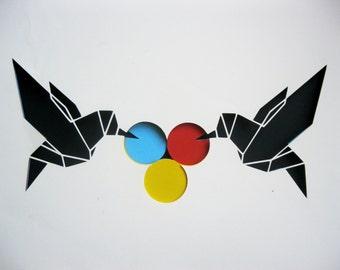 CMYK _ Paper Art