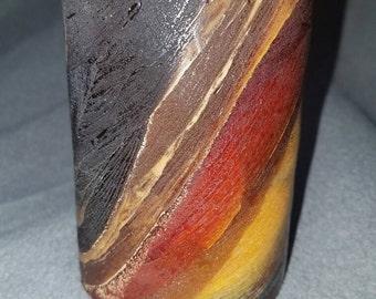"Vermont Maple - 4.5"" Pillar Candle"