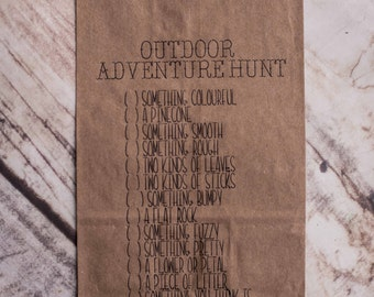 Adventure Hunt Bags - Party Games, Kids Games, Birthday Party, Party Favours, Children's Birthday Party Games