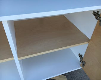 Additional Interior Shelf - Mahogany, Maple or White