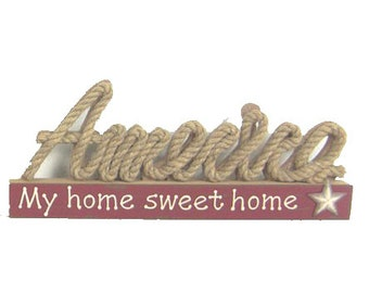 "ESE Table Décor "" America my home sweet home"""