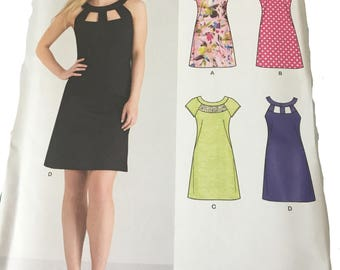 New Look pattern 4 dress styles size 10-22