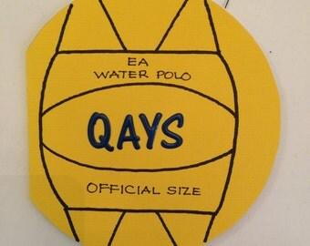 Custom Water Polo Card
