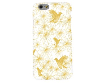 Hummingbirds and Wildfires Phone Case