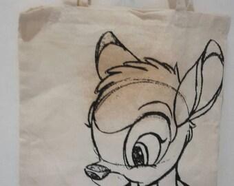 Bambi Disney tote bag.