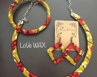 Set jewelry WAX yellow