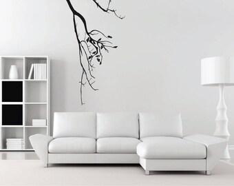 Vinyl sticker mural | decal | tree | branch