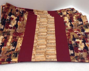 Quilted Placemats set of 4
