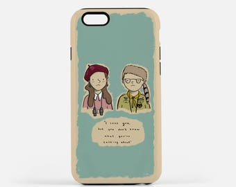 Moonrise Kingdom Phone Case - Suzy and Sam - Wes Anderson - Tough iPhone Samusung 6 6s 7