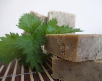 Honey Nettle Natural Handmade Beer Soap, Honey Soap, Nettle Soap, Beer Soap, Bar Soap, Natural Skincare, Homemade Soap, UK/ EU/ USA. Artisan