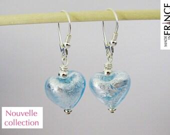 Cupid sky earrings