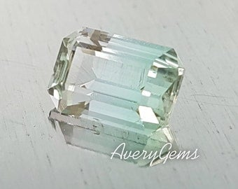 Tourmaline Bi-Colour 2 Ct Natural Loose Gemstone For Engagement Ring Tourmaline Ring Necklace Precious Gemstone Precision Cut By AveryGems