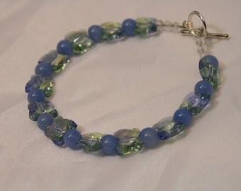 HANDMADE BEADED BUTTERFLY Bracelet