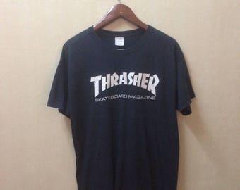 Thrashers  Skateboard Maganize T Shirt Size L