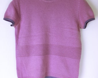 GIANNI VERSACE couture 80's-90's vintage Cashmere knit sweater