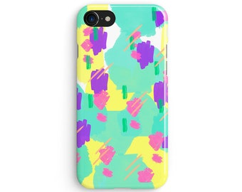 90s candy coated pattern - iPhone 7 case, Samsung Galaxy S7 case, iPhone 6, iPhone 7 plus, iPhone SE, iPhone 5S, 1C062A