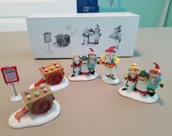 FREE SHIPPING, Department 56 Snow Cone Elves