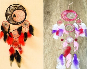 "Dreamcatcher ""Eclipse"" Customizable ""SIZE AND COLOR"""
