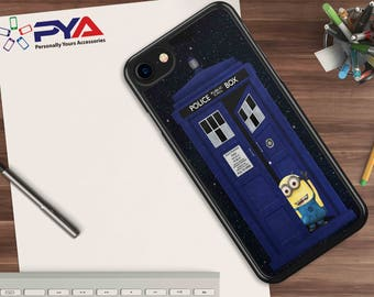 Tardis Minion Phone Cover for Apple iPhone & iTouch Devices