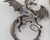 Targaryen Inspired Dragon Needleminder / Game of Thrones Inspired Dragon Needleminder / Dragon Needleminder