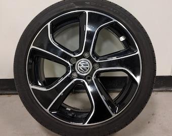 "VW MK7 GTi Austin Wheel Decal ""AUS-Full Decal Kit"""