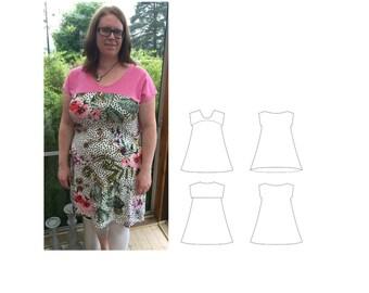 Sunshine Dress. Size 32-60