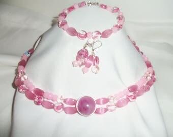 Pink 2-strand