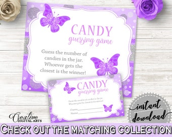 Candy Guessing Game Baby Shower Candy Guessing Game Butterfly Baby Shower Candy Guessing Game Baby Shower Butterfly Candy Guessing 7AANK
