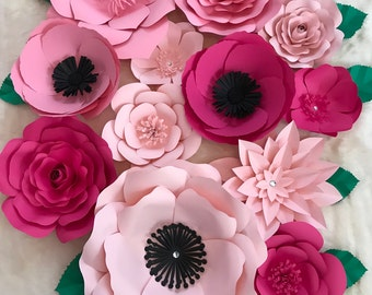 Large Paper Flower Backdrop/ Nursery Decor******Customize your Order*******