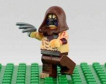 Scarecrow Custom minifigure (Lego Compatible) DC Comics Batman Villain Superhero Jonathan Crane Dark Knight Arkham Asylum Christmas Stocking